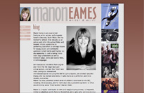 manon eames - actor and writer